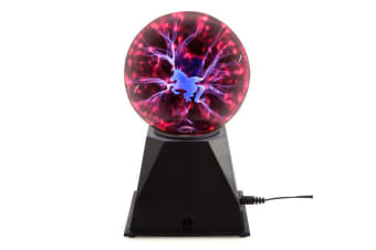 Plasma Ball Touch Sphere Lightning Lamp Light Party Magic With Unicorn
