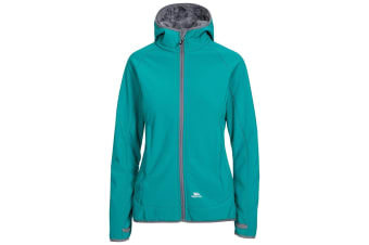 Trespass Womens/Ladies Imani Waterproof Softshell Jacket (Ocean Green) (XL)