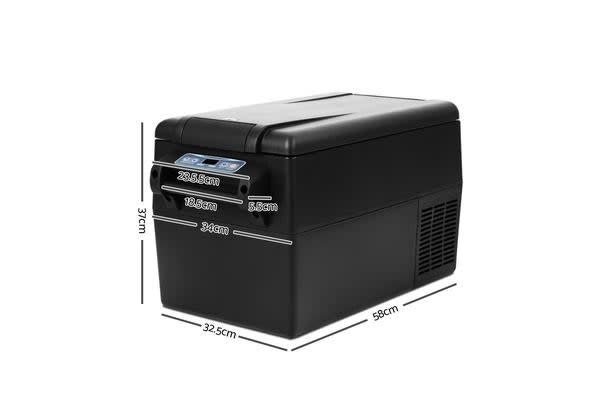 38L Portable Cooler Fridge (Black)