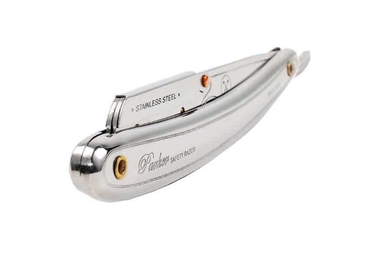 Parker Sr1 Cut Throat Shaving Razor Stainless Steel