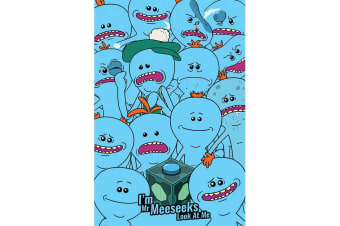 Rick And Morty Mr Meeseeks Poster (Blue)