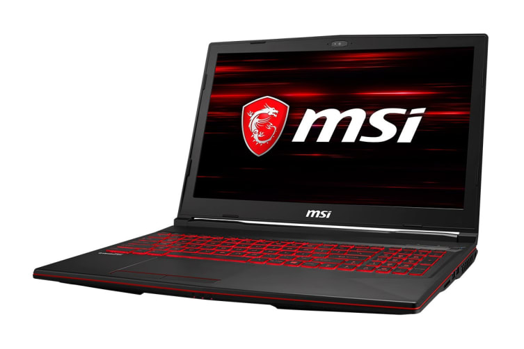 """MSI 15.6"""" GL63 8RC FHD Core i7-8750H GTX1050 4GB 1TB HDD 128GB SSD 16GB RAM Gaming Notebook (8RC-043AU)"""