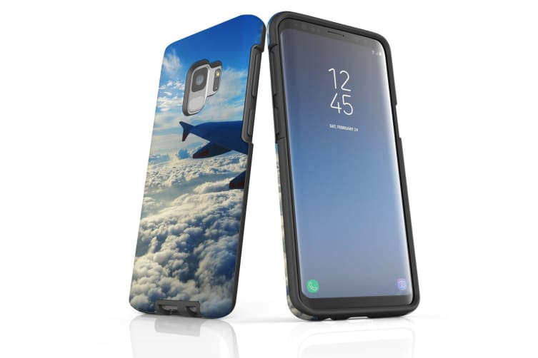 For Samsung Galaxy S9 Case Armour Cover  Clouds from the Plane