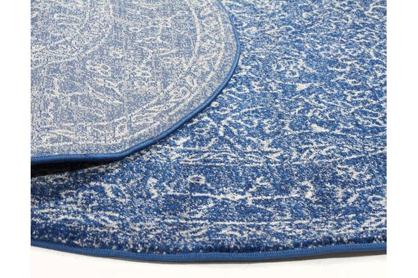 Artist Navy Transitional Rug 200x200cm