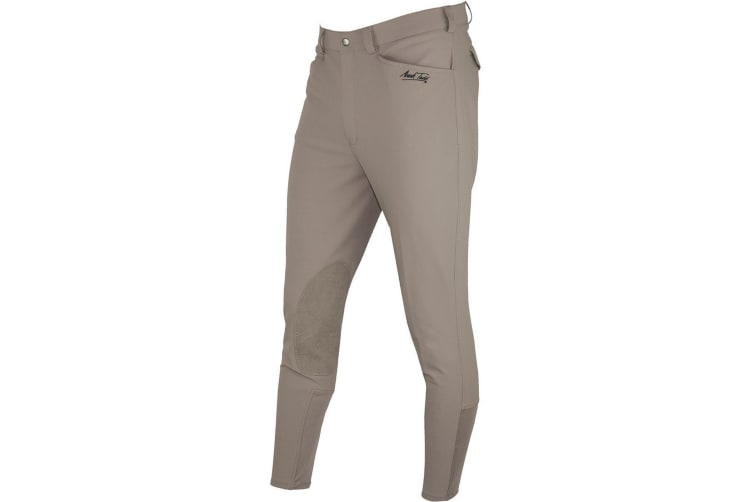 Mark Todd Mens Latigo Breeches (Taupe) (38 inches)