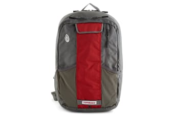 "Timbuk2 Track II Medium Men Cycle Backpack Bag for 15"" Laptop/Notebook Red/Grey"