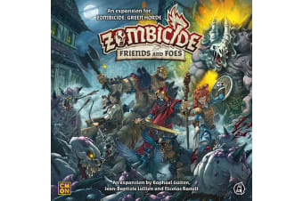 Zombicide Green Horde - Friends and Foes Expansion