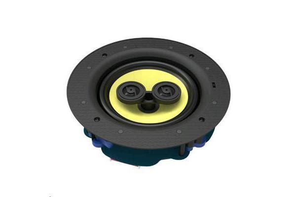 "Lumiaudio FLC-62 6.5"" 2-way Stereo Framless Ceiling Speaker. RMS Power 60W. Frequency Response"