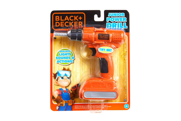 Black & Decker Toy Electronic Drill