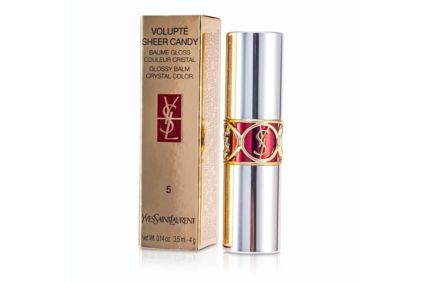 Yves Saint Laurent Volupte Sheer Candy Lipstick (Glossy Balm Crystal Color) - # 05 Mouthwatering Berry (4g/0.14oz)