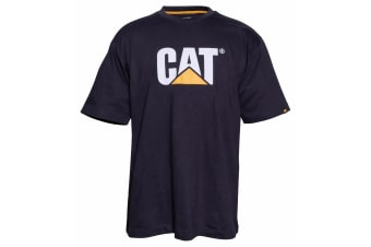 Caterpillar Mens TM Logo Short Sleeve T-Shirt (Black)