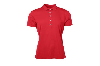 James and Nicholson Womens/Ladies Active Polo (Red) (XS)