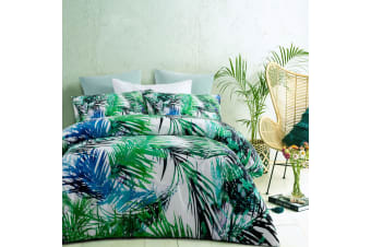 Bahamas Quilt Cover Set King by Accessorize