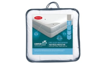 Tontine Comfortech Waterproof Fitted Mattress Protector (Queen)