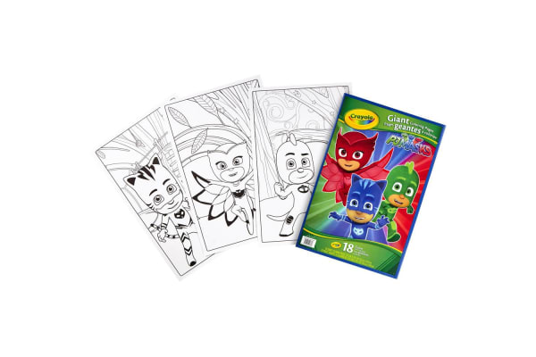 Crayola Giant Coloring Pages - PJ Masks