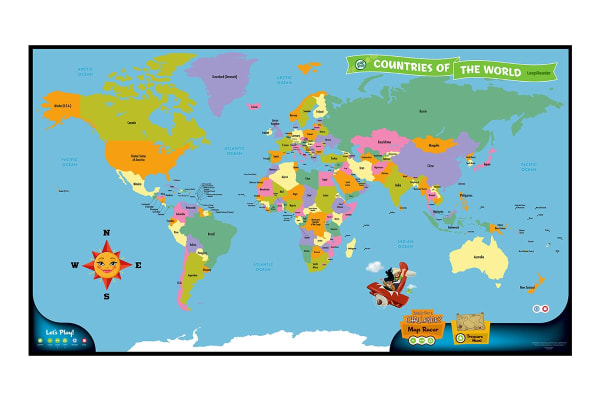 LeapFrog LeapReader Discovery Set:World Map