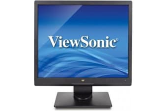 "Viewsonic Value Series VA708A LED display 43.2 cm (17"") Flat Matt Black"