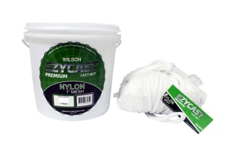 Wilson EZYCAST Nylon Cast Net with 1 Inch Mesh Size [Drop: 9ft]