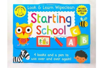 Look & Learn Wipeclean - Starting School