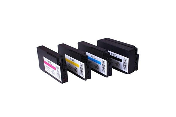 950XL 951XL Remanufactured Inkjet Cartridge Set