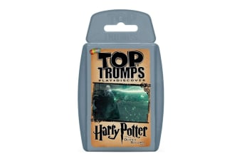 Top Trumps Harry Potter & The Deathly Hallows Part 2 Card Game 6y+ Family/Kids