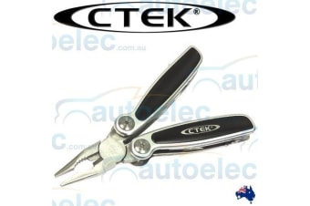 CTEK 10 FUNCTION STAINLESS POCKET TOOL MULTITOOL MULTI KNIFE FOLDING PLIERS HAND