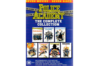 Police Academy The Complete Collection - Rare- Aus Stock DVD PREOWNED: DISC LIKE NEW