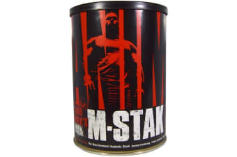 Universal Nutrition Animal M-Stak The Non-Hormonal Anabolic Stack - 21 Packs