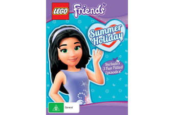 LEGO Friends Summer Holiday DVD Region 4