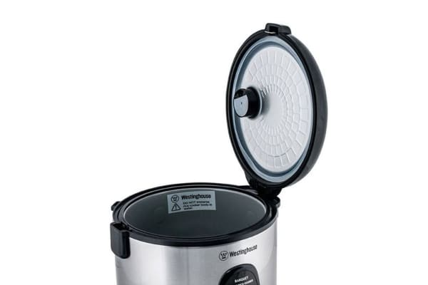 Westinghouse 7 Cup Rice Cooker - Stainless Steel