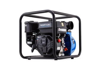 Warton 8HP 3 Inch Petrol Water Transfer Pump High Pressure Fire Fighting Irrigation