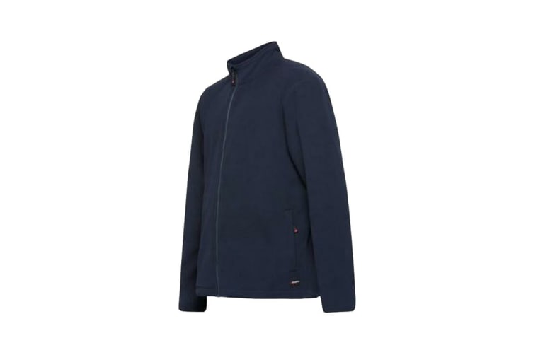 King Gee Full Zip Fleece (Navy, Size L)