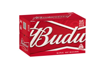 Budweiser Beer 24 x 330mL Bottles