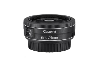 Canon EF-S 24mm f/2.8 STM, Diameter 52mm to suit Lens Hood E52II (EFS2428ST)