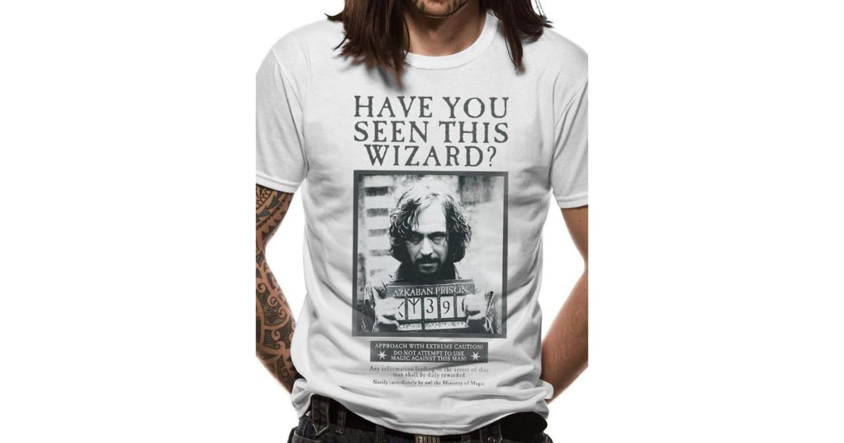Harry Potter Harry And Sirius Licensed Adult T Shirt