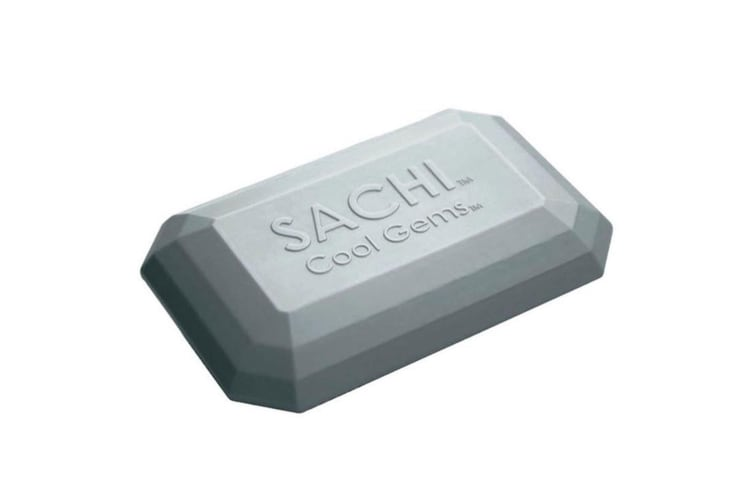 Sachi Cool Gems Reusable Travel Ice Pack Bag Box Cooler for Picnic Camping  Grey