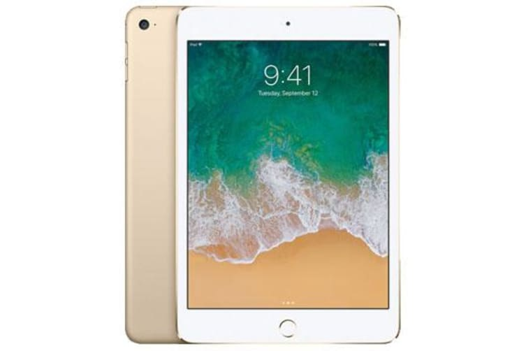 Used as demo Apple iPad Mini 4 16GB 4G LTE Tablet Gold (6 month warranty + 100% Genuine)