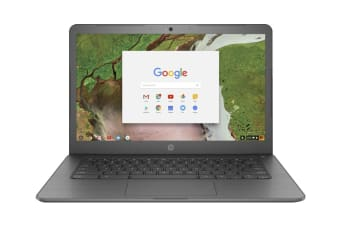 "HP 250 G7 14"" HD Chromebook (Intel Celeron, 4GB RAM, 32GB EMMC, Grey) - Certified Refurbished"