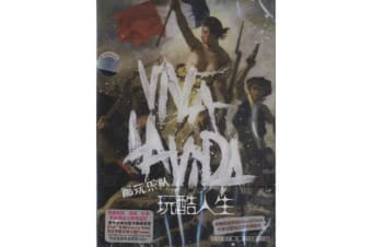 COLDPLAY LIVE THE VIDA CD -Music Rare- Aus Stock DVD NEW
