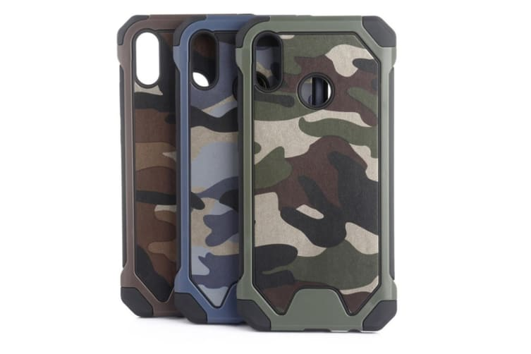 3-In-1 Protective Cover For Camouflage Mobile Phone Case For Huawei Green Huawei P9