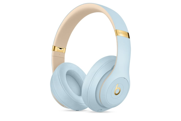 Beats Studio3 Wireless Over-Ear Headphones (Crystal Blue)