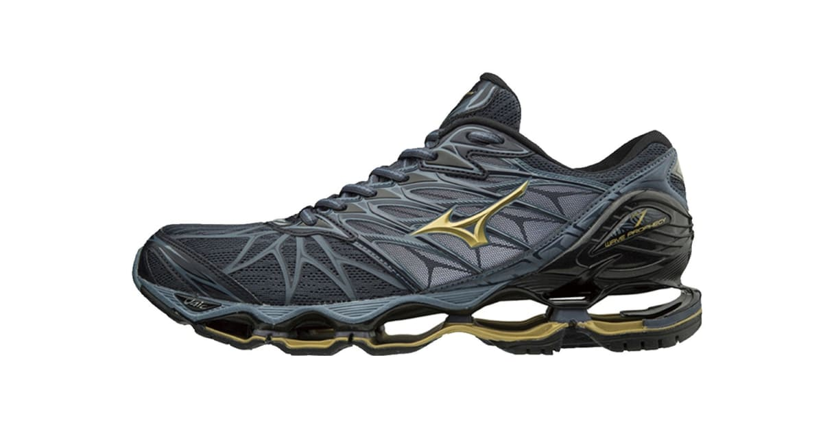 mizuno mens running shoes size 9 youth gold edition
