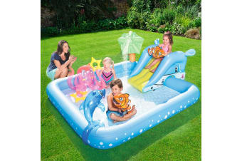 Bestway Inflatable Kids Play Pool Fantastic Aquarium Play Pools