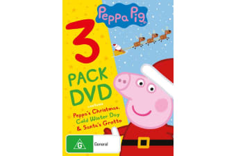 Peppa Pig Peppas Christmas / Cold Winter Day / Santas Grotto Box Set DVD