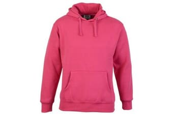 Casual Classic Mens Pullover Hood (Heliconia) (2XL)