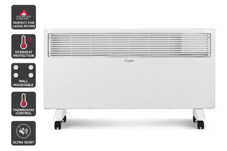 Kogan 2000W Portable Electric Panel Heater