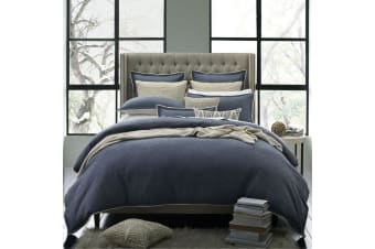 Kipling Cadet Cotton Quilt Cover Set Queen by Private Collection