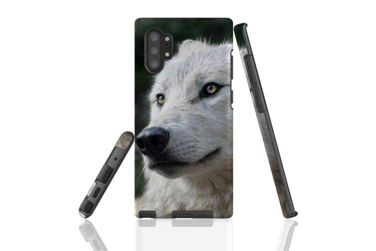 For Samsung Galaxy Note 10+ Plus Case  Armour Tough Cover  Wolf