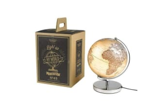 Gentlemen`s Hardware 25cm City Lights Globe Lamp