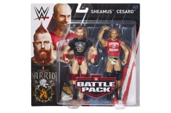 WWE Figure Series #49 Sheamus and Cesaro Action Figures 2 Pack